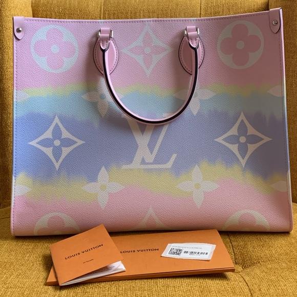 Louis Vuitton Bags Lv Escale Onthego Gm Pastel Poshmark